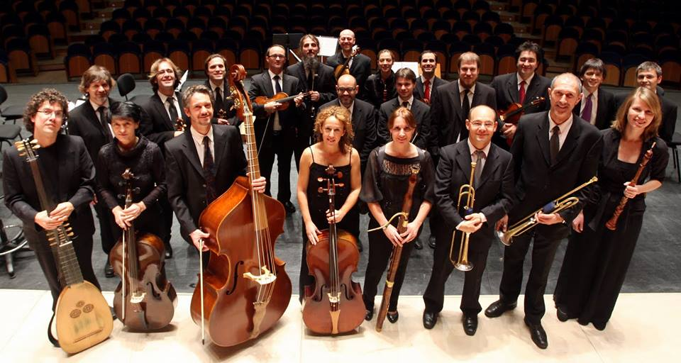 Orquesta Barroca de Sevilla y Tecnoláser